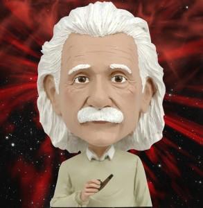 Einstein Ponders Brain Reality Space