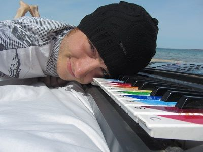I do miss the beach.  A kayak will do.