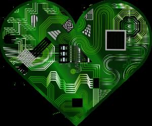 Digital Heart Love Abraham Abe Guru