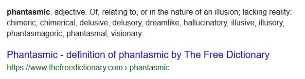 Phantasmic