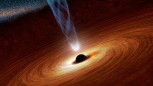 event horuzon telescope black hole art